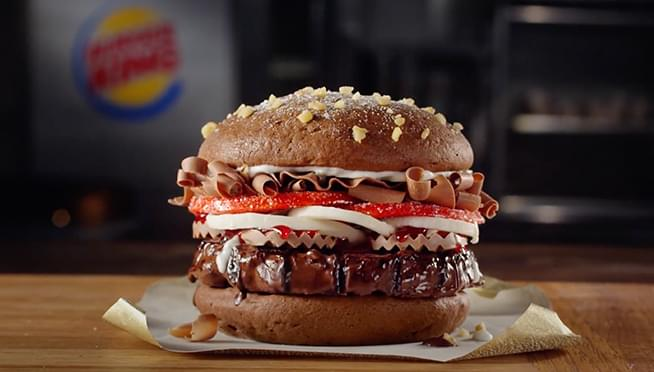 Burger King actually makes a CHOCOLATE Whopper and people REALLY want to try it