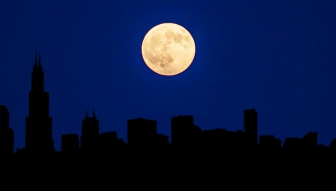 Stargazers are in for a Halloween treat with a RARE Blue Moon rising October 31st