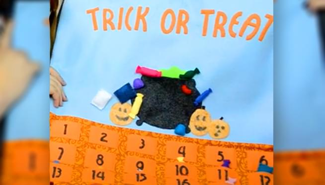 Needing a new Halloween tradition?  How about a Halloween countdown calendar?!