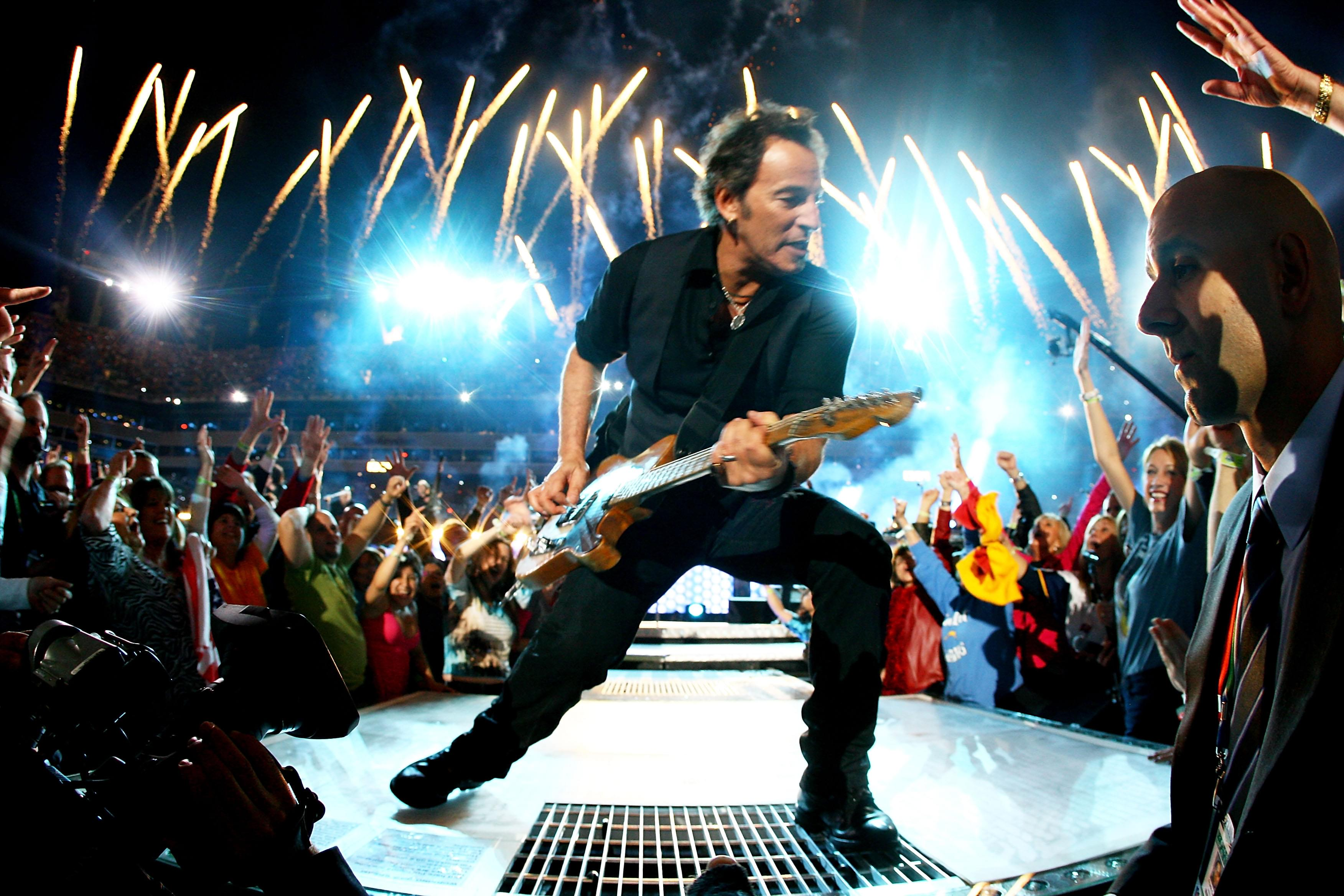 "Check Out Bruce Springsteen's new single, ""Ghosts"""