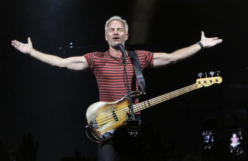 WATCH Sting perform new single on the Tonight Show – promotes upcoming duets collection release