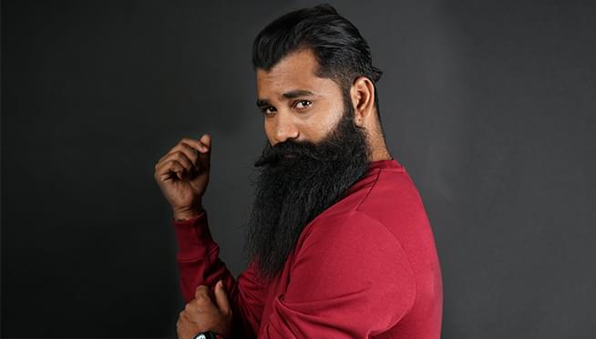 "A new contest is looking for America's ""Most Talented Beard"""