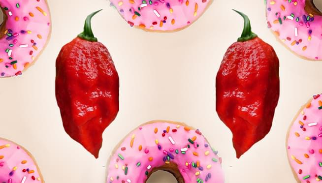 Dunkin' has a new spicy ghost pepper donut for Halloween
