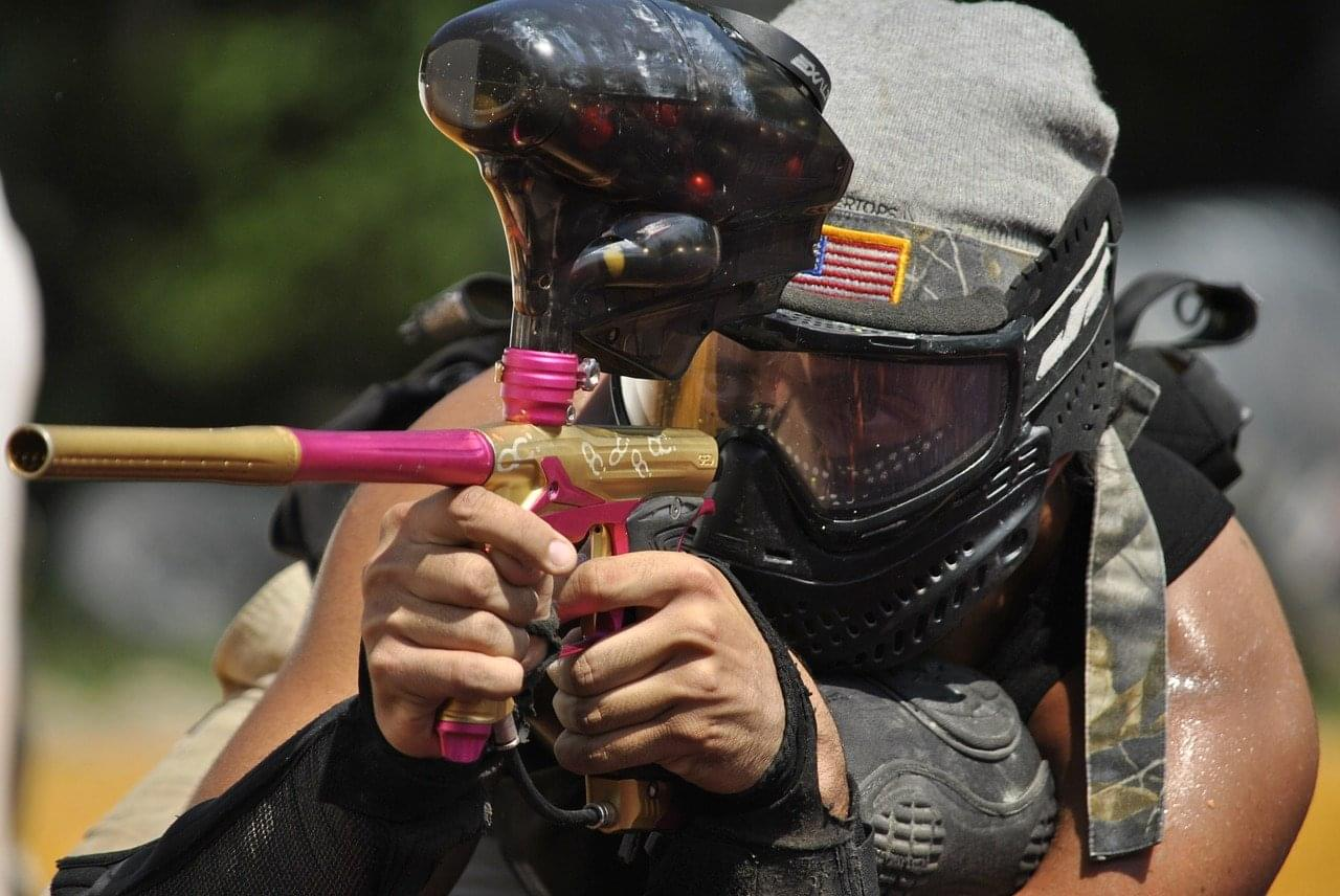 WATCH OUT!!  Paintball attacks are happening around Chicago college campuses