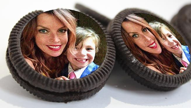 You can put your face on your own customized Oreo cookies
