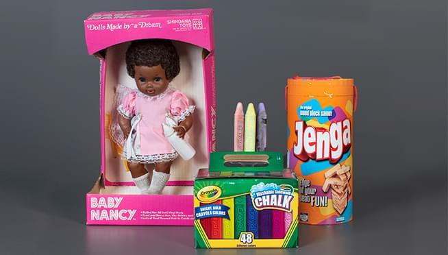 Sidewalk chalk and Jenga among inductees into National Toy Hall of Fame