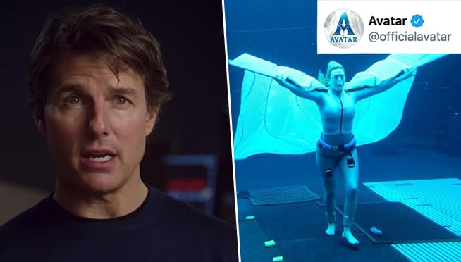 Kate Winslet broke Tom Cruise's record for holding her breath underwater