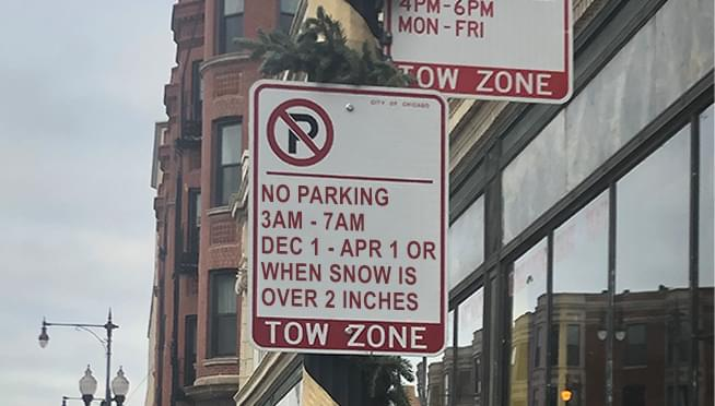 Chicago winter parking ban starts TODAY