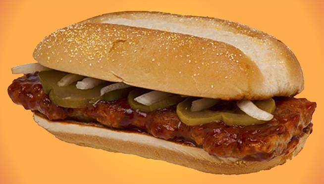 McDonald's offering FREE McRib for shaving your beard