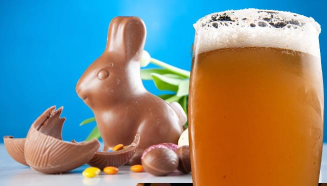 There's a new beer that's made from Cadbury Crème Eggs