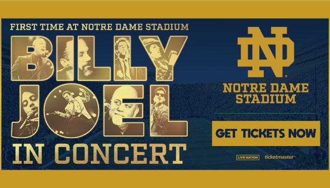 6/25/2022 – Billy Joel at Notre Dame Stadium