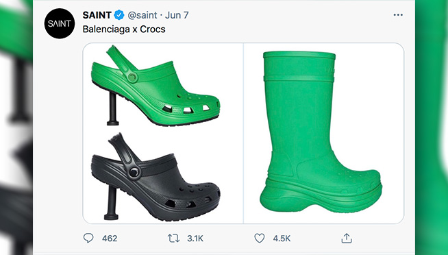 Stiletto Crocs Are Now A Thing