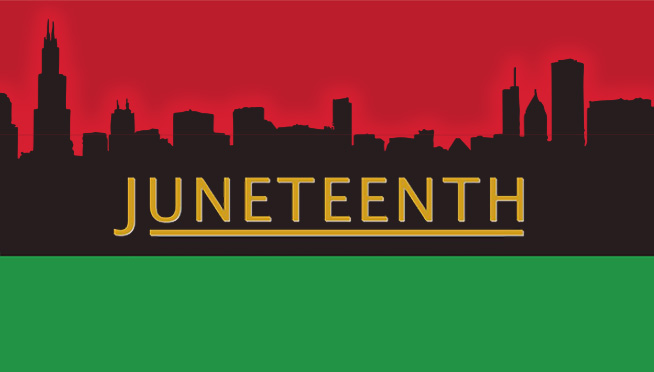 Chicago skyline will light up red this weekend to celebrate Juneteenth