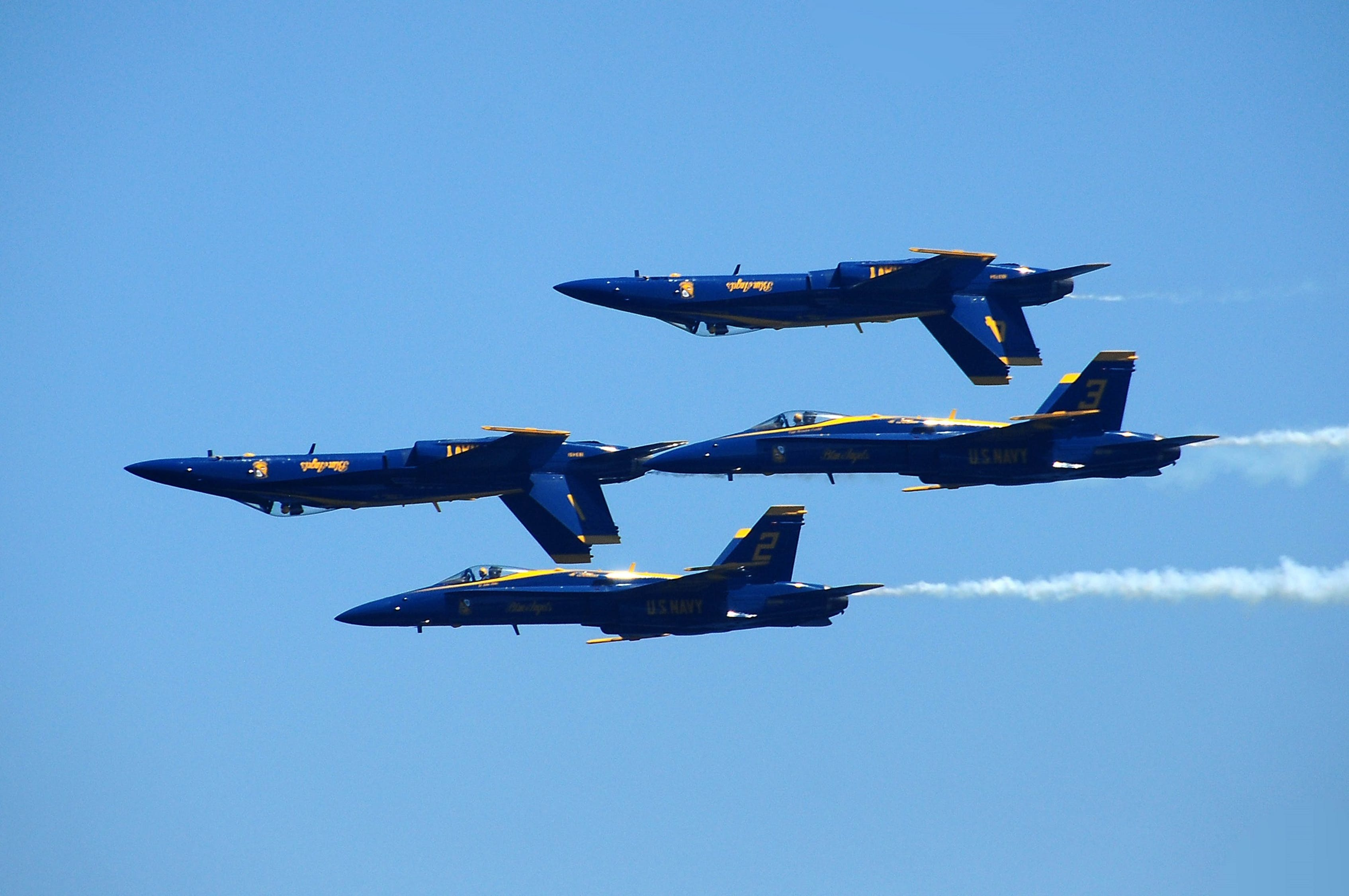 Air and Water Show CANCELED – Blue Angels will fly over Chicago in August