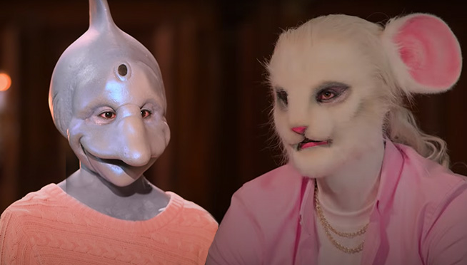 """Trailer for Netflix's new dating show """"Sexy Beasts"""" is nightmare fuel"""