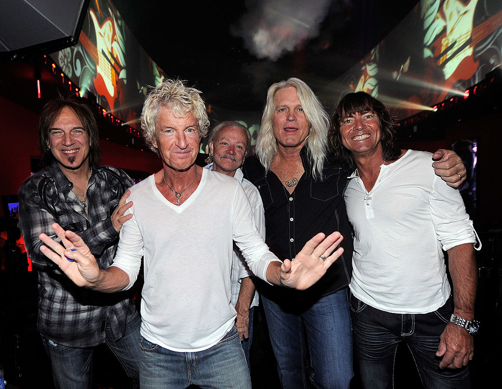Chicagoland's first big rock show of 2021?  REO Speedwagon!!