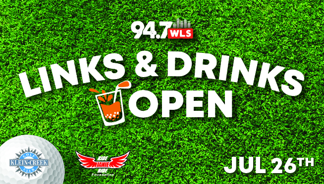 7/26/21 – Win Concert Tickets and Play Golf at the 94.7 WLS  LINKS & DRINKS OPEN