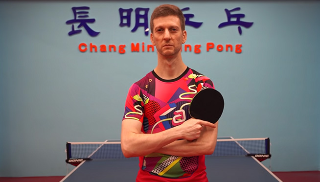 Competitive table tennis player is an AWESOME commentator at the Olympics