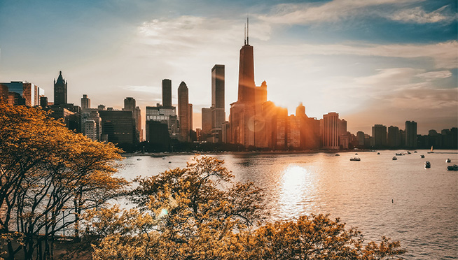 Chicago voted Most Beautiful City in North America and 2nd Most Beautiful in the World