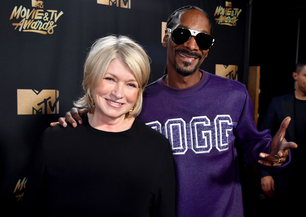 Snoop Dogg and Martha Stewart are doing a Halloween Special