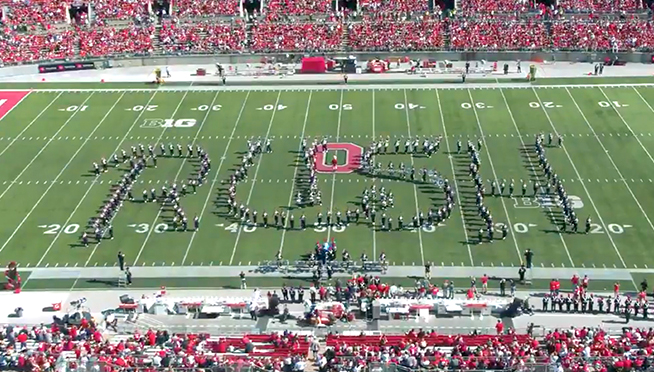 OSU Marching Band Performs an Amazing Tribute to RUSH