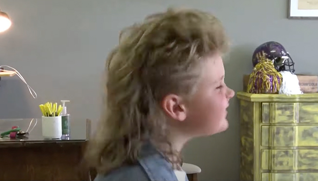 Illinois, Indiana, Wisconsin kids competing in 2021 USA Mullet Championships Kids Division
