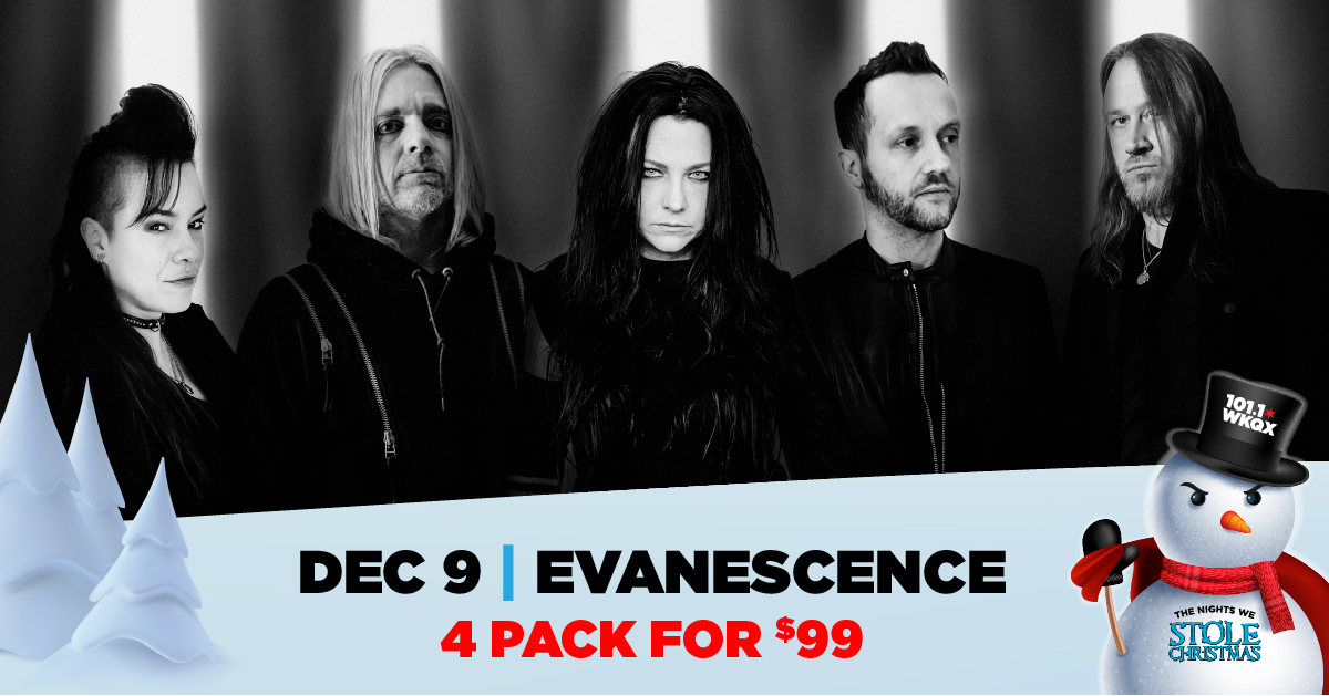 12/09/21 – The Nights We Stole Christmas with EVANESCENCE