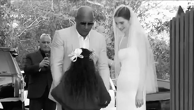 Vin Diesel walked Paul Walker's Daughter down the aisle