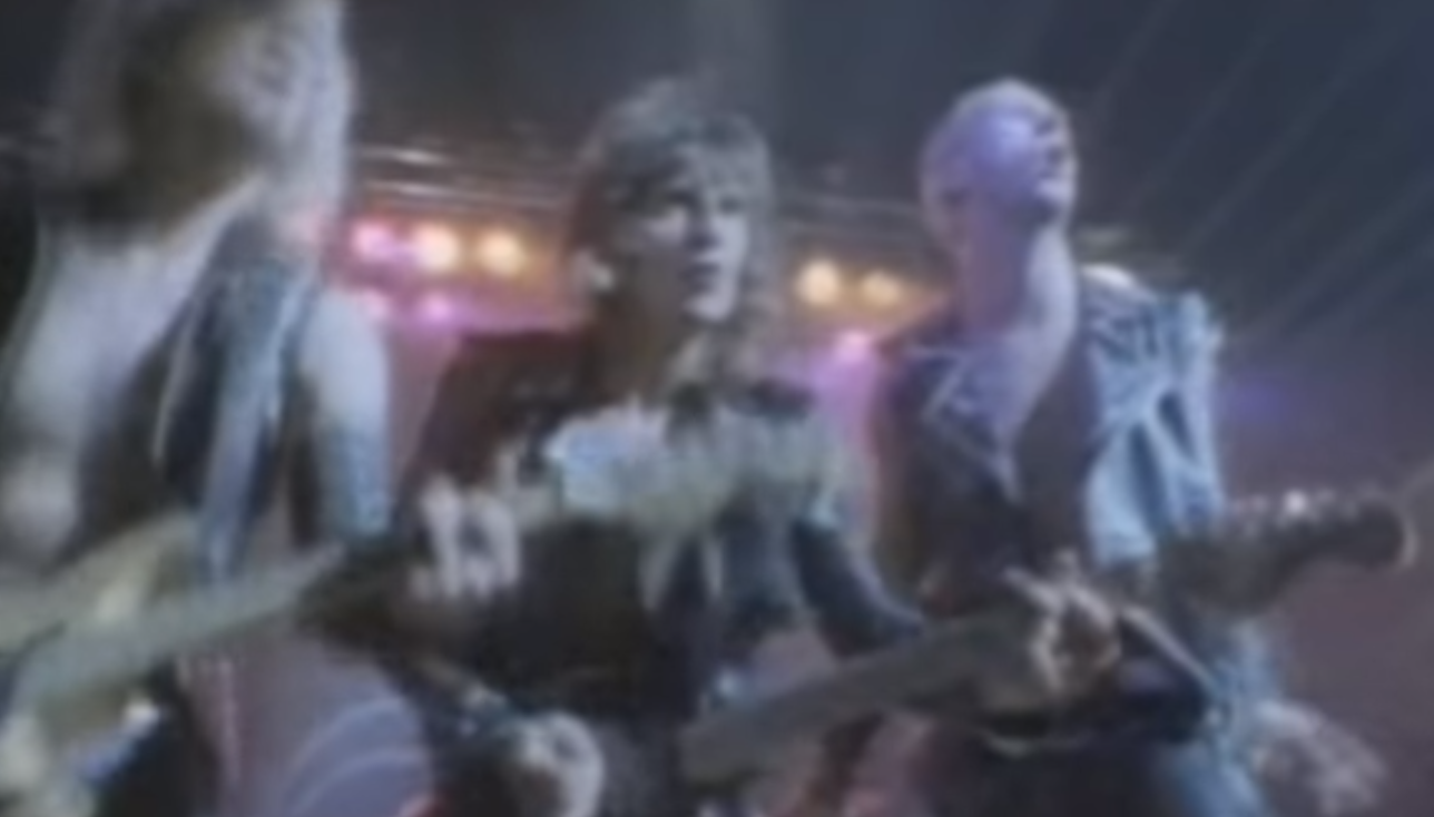 Judas Priest has 'Screaming' success (Loop Rock History)