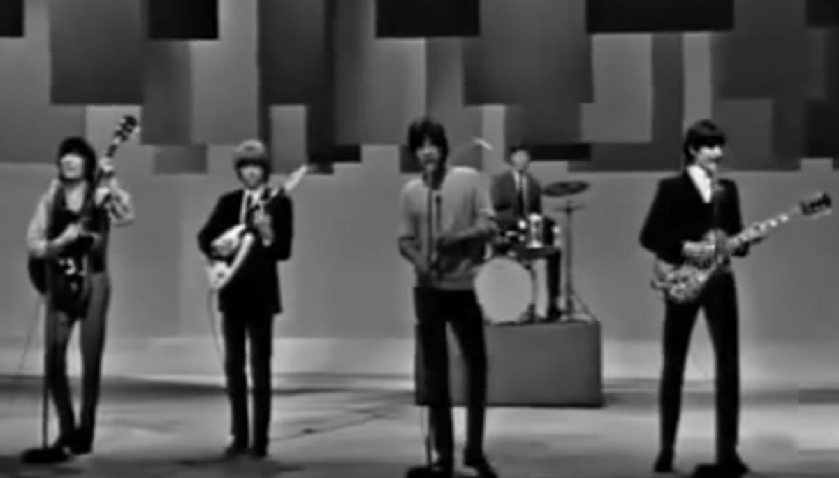 Rolling Stones arrested for 'insulting behavior' (Loop Rock History)