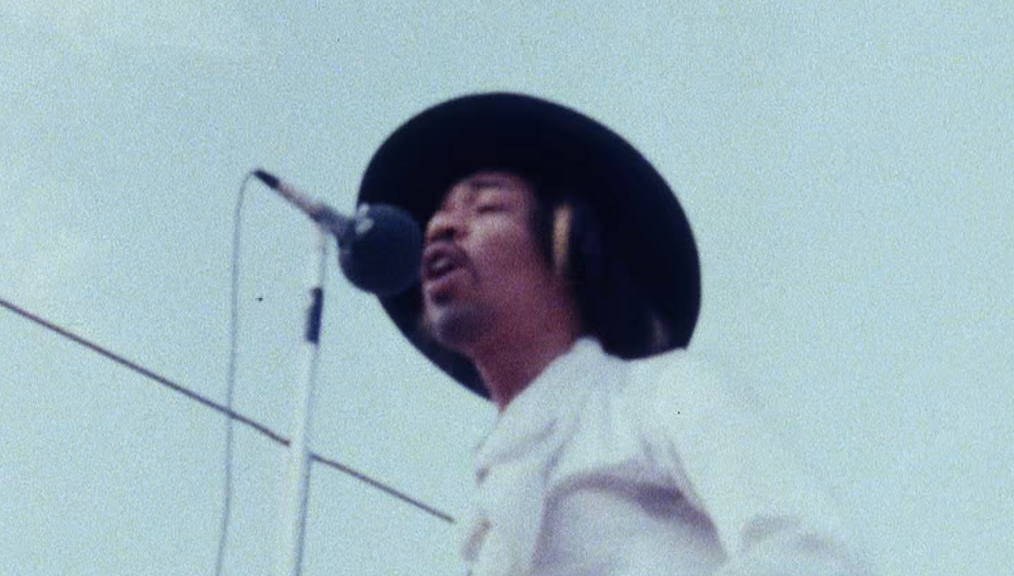 Hendrix plays last show (Loop Rock History)