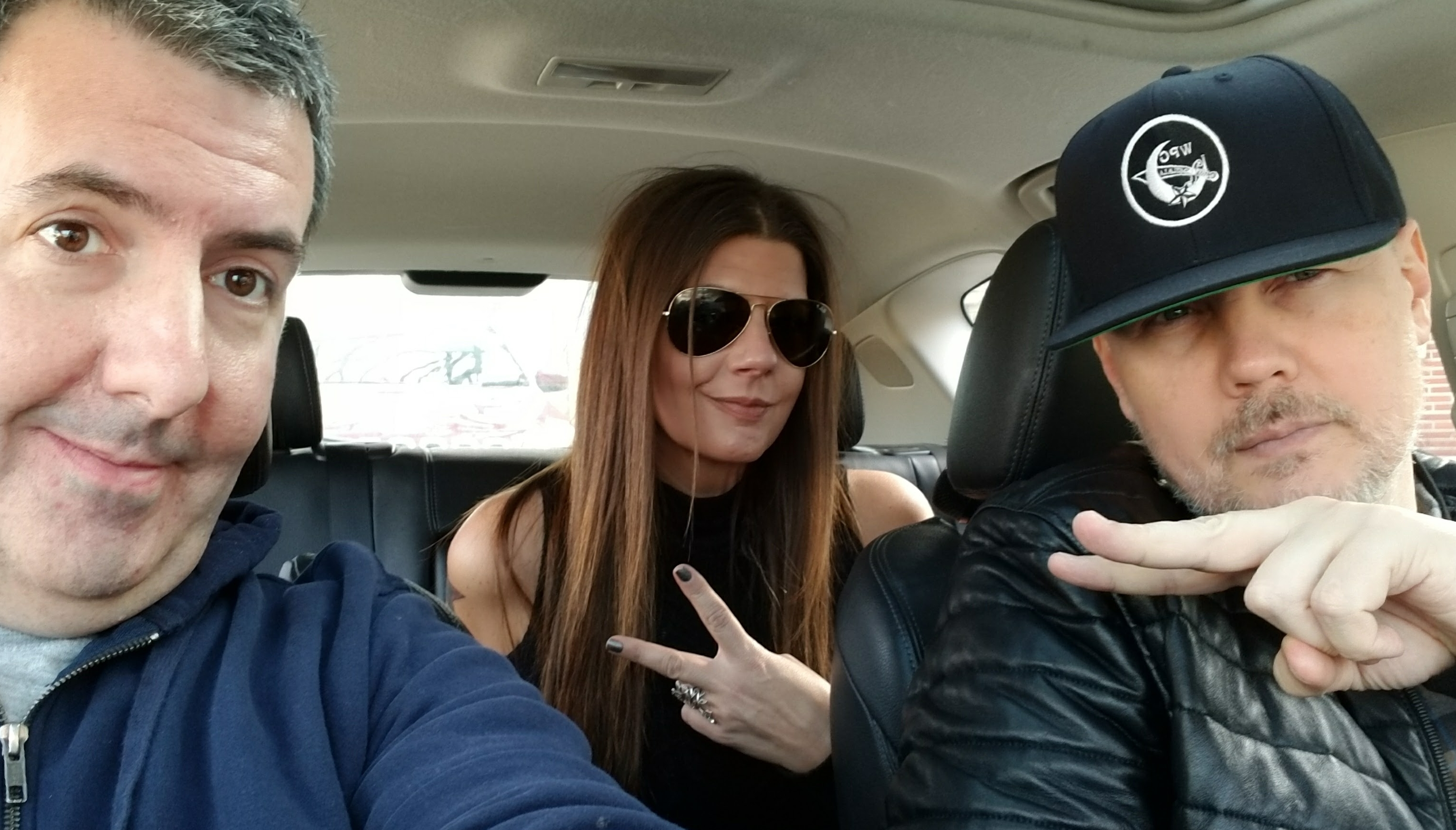 Car Con Corgan – Billy Corgan (Smashing Pumpkins) and Sheri Shaw at Madame Zuzu's (CCC)