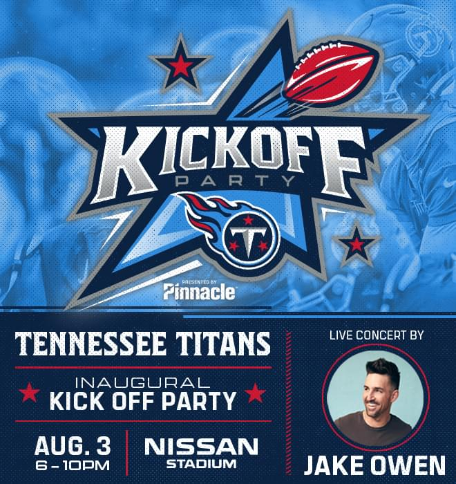 Titans Kick Off Party with Jake Owen