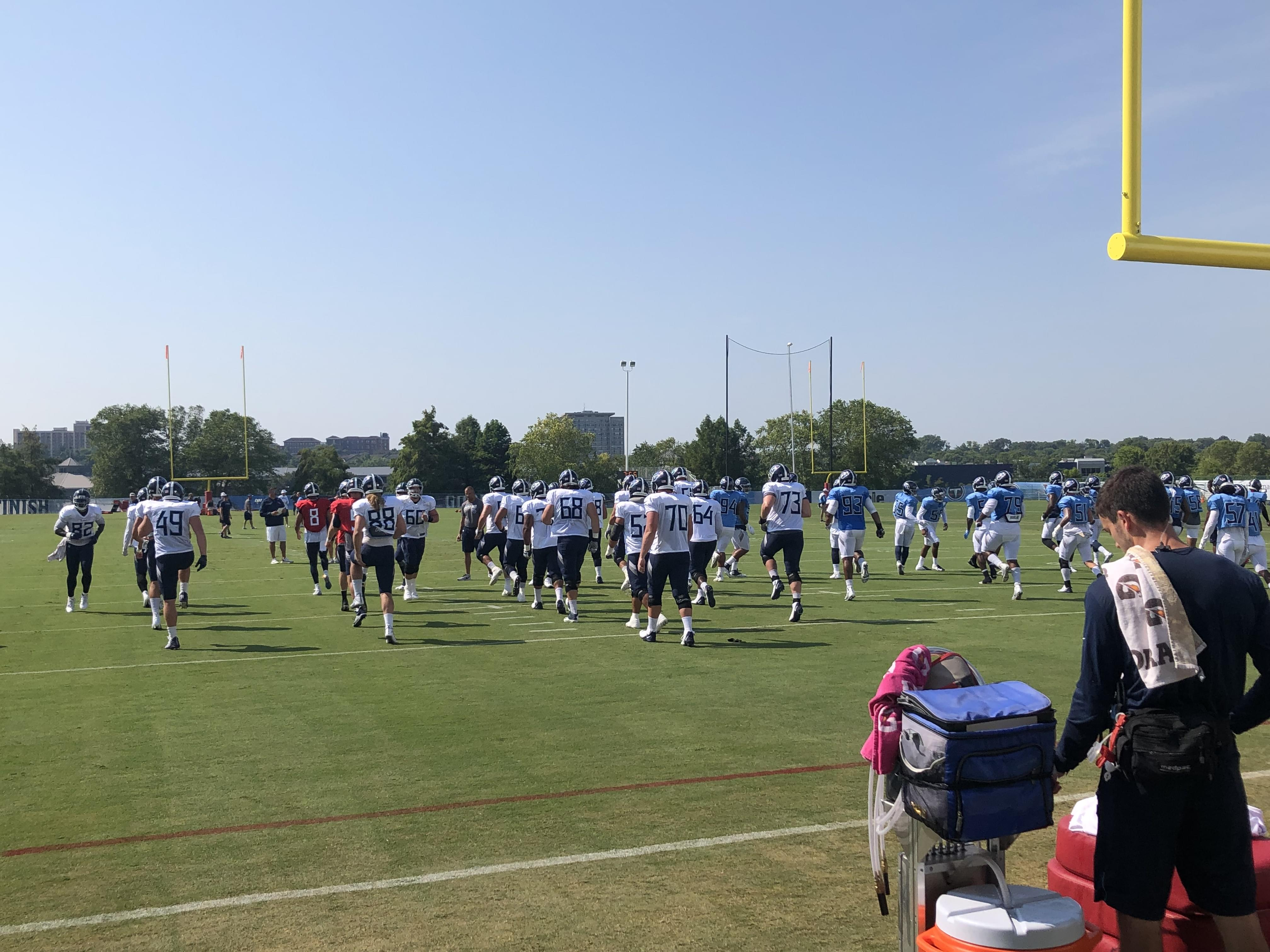 Training Camp Day 4: Takeaways