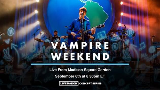 Vampire Weekend Streaming Sold-Out Madison Square Garden Show