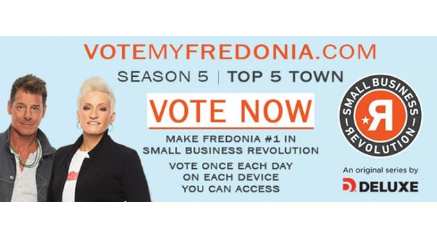 "Fredonia Named Top 5 finalist on ""Small Business Revolution"""