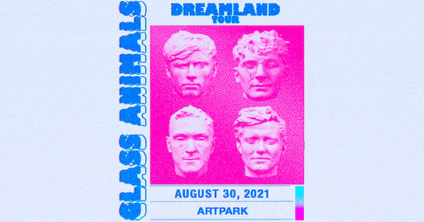 103.3 the Edge Presents GLASS ANIMALS at ArtPark