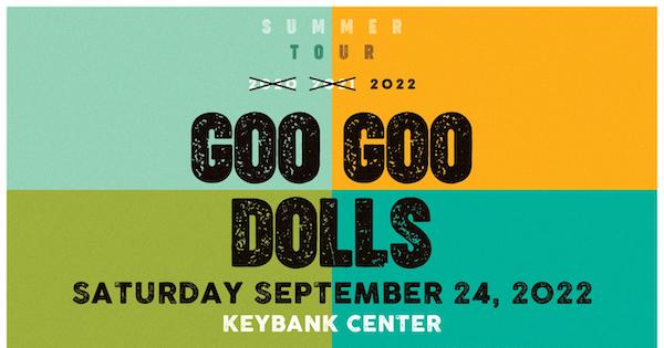 Goo Goo Dolls Performing Key Bank Center