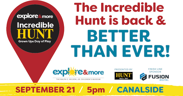 The Incredible Hunt at Explore and More