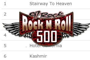 See The List: 97 Rock n Roll 500