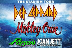CONCERT ANNOUNCEMENT- The Stadium Tour