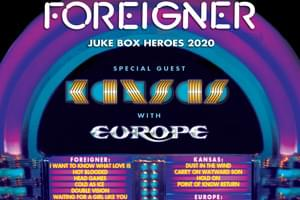 97 Rock's Block Party Bash 2020: Foreigner, Kansas & Europe