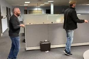 VIDEO: Morning Bull's Social Distancing Bunny Hop