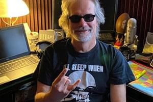 BEHIND THE SCENES PHOTOS: 97 Rock DJ's at home