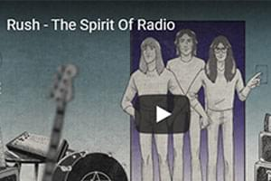 VIDEO: Rush Release 'Spirit of Radio' Video, Peart Posthumous Mini-Film!