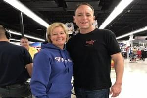 AUDIO/VIDEO: Food Eating Champ Joey Chestnut Joins MB!
