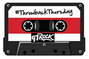 Throwback Thursday on 97 Rock