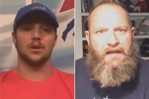 VIDEO: Bull talks with Josh Allen