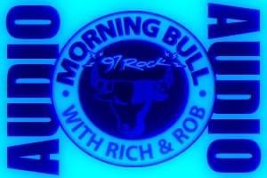 Morning Bull Logo BLUE
