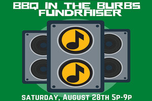 'BBQ In The Burbs' Fundraiser for 'MUSIC IS ART'!